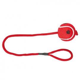 TRIXIE - Piłka tenisowa na sznurku 50cm dla Psa lub Kota
