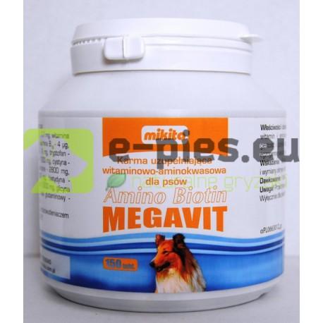 MIKITA - Amino Biotin MEGAVIT 150tabl. - dla Psa