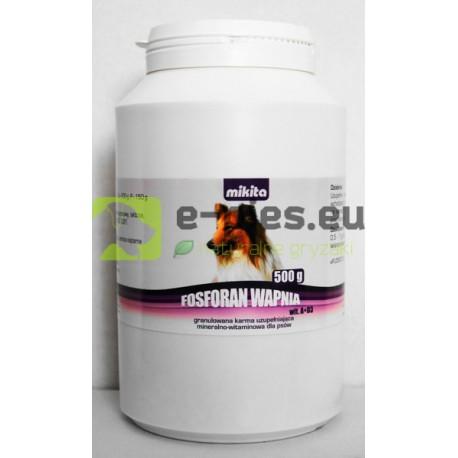 MIKITA - Fosforan Wapnia A+D3 500g - dla PSA
