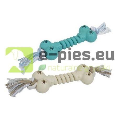 Lolo Pets - Kość Gumowa ze Sznurkiem 15x6cm 54060