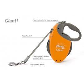 FLEXI SMYCZ GIANT L DO 50kg 8m Żółta FL-5513