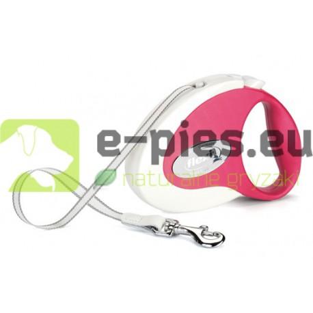 Flexi Collection Fresh S - Różowa 12kg/3m - smycz