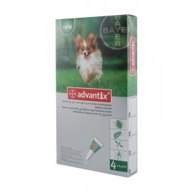 ADVANTIX SPOT-ON 4 x 0,4ml - do 4kg