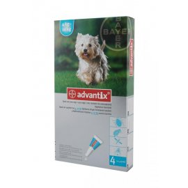 ADVANTIX SPOT-ON 4 x 1ml 4-10kg