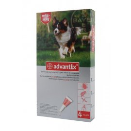 ADVANTIX SPOT-ON 4 x 2,5ml 10-25kg