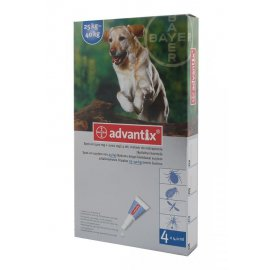 ADVANTIX SPOT-ON 4 x 4ml 25-40kg