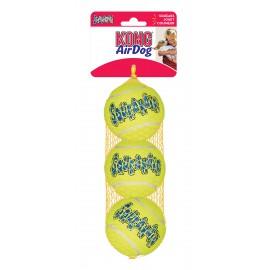 KONG AirDog Piłki Tenisowe M 3szt. 6cm AST2