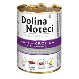 DOLINA NOTECI PREMIUM KRÓLIK+ŻURAWINA 800 G