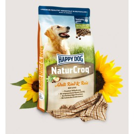 Happy Dog NaturCroq wołowina + ryż 15kg