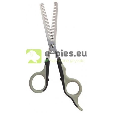 TRIXIE 2355 - Nożyczki Trymerskie Dwustronne/Cieniowanie 18cm