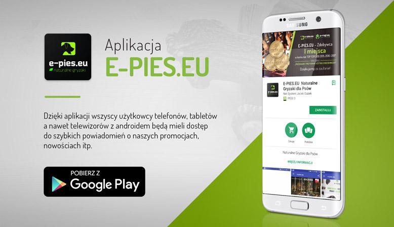 Aplikacja Mobilna Sklepu e-pies.eu